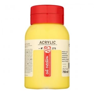 Farba akrylowa Art Creation Acrylic Primary Yellow 750ml