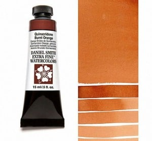 Daniel Smith akwarela Quinacridone Burnt Orange
