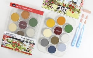 PanPastel Susan's Garden Flower Colouring Kit No.3 -Zestaw