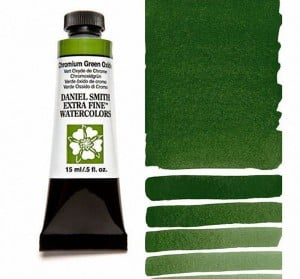 Daniel Smith akwarela Chromium Green Oxide
