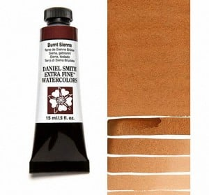 Daniel Smith akwarela Burnt Sienna