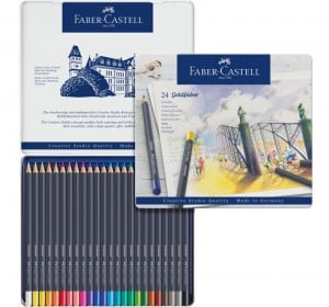 GOLDFABER Colour Pencils 24 kolory - komplet kredek