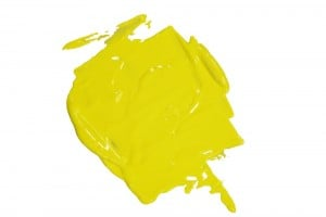 Speedball Water Soluble Block Ink YELLOW - wodna farba graficzna