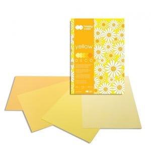 Blok Deco 170g 20 ark. YELLOW