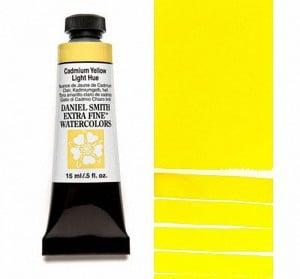 Daniel Smith akwarela Cadmium Yellow Light Hue