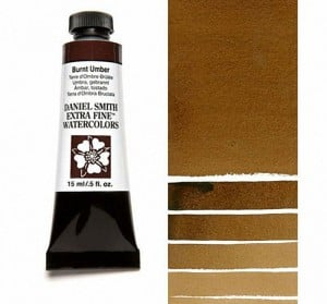 Daniel Smith akwarela Burnt Umber