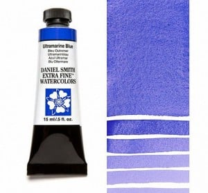 Daniel Smith akwarela Ultramarine Blue