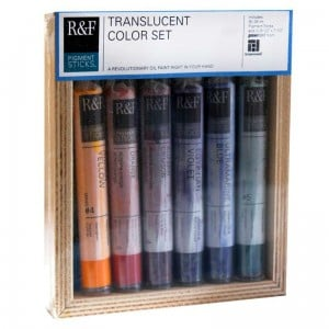 R&F Pigment Sticks Translucent Color Set - komplet 6 sztyftów