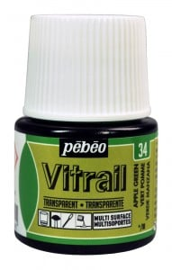 Vitrail Transparent 34 APPLE GREEN - farba witrażowa