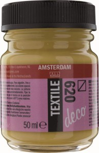 AMSTERDAM Deco Textile 50ml OLIVE GREEN - farba do tkanin