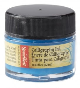 "Speedball Tusz ""Super Pigmented Acrylic Ink"" Indigo Blue 12 ml"
