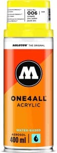 Molotow ONE4ALL SPRAY 400ml #006 zinc yellow - spray akrylowy