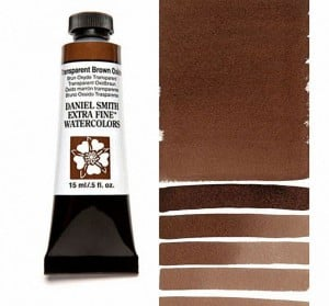 Daniel Smith akwarela Transparent Brown Oxide
