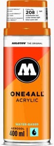 Molotow ONE4ALL SPRAY 400ml #208 ocher brown light - spray akrylowy