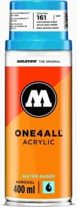 Molotow ONE4ALL SPRAY 400ml #161 shock blue - spray akrylowy