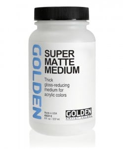 Golden Super Loaded Matte Medium - medium akrylowe