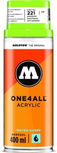 Molotow ONE4ALL SPRAY 400ml #221 grasshopper - spray akrylowy