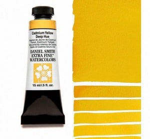 Daniel Smith akwarela Cadmium Yellow Deep Hue