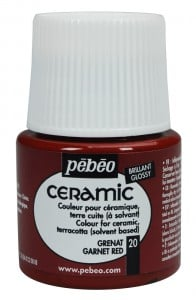 Ceramic 20 CHERRY RED - farba do ceramiki
