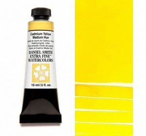 Daniel Smith akwarela Cadmium Yellow Medium Hue