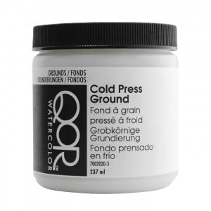 QoR Cold Press Ground 237ml - grunt akwarelowy