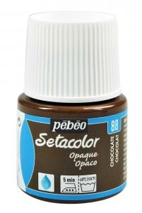 Pebeo Setacolor 45ml Chocolate - farba do tkanin
