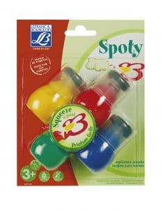 Spoty Tempera Paint Markers 4x30ml - tempery w pisakach