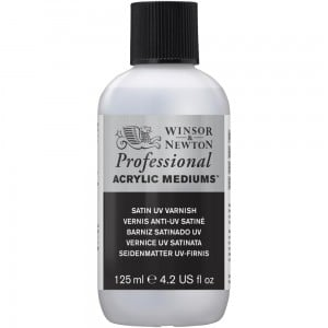 W&N Professional Satin UV Varnish - werniks akrylowy satynowy UV