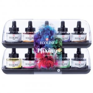 Talens Ecoline Mixing Set 10x30ml - komplet
