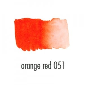 Brushmarker PRO orange red 051 - marker pędzelkowy