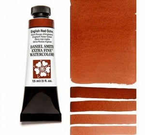 Daniel Smith akwarela English Red Ochre