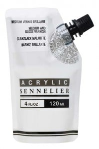 Sennelier Abstract Gloss Varnish/Medium - medium akrylowe