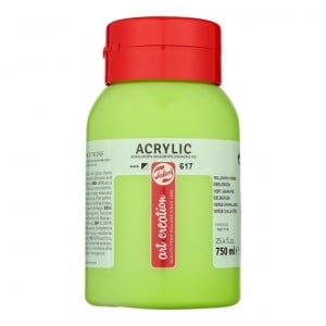 Farba akrylowa Art Creation Acrylic Yellowish Green 750ml