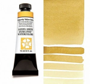 Daniel Smith akwarela Burgundy Yellow Ochre