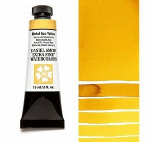 Daniel Smith akwarela Nickel Azo Yellow
