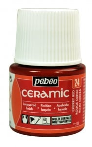 Ceramic 24 CHERRY RED - farba do ceramiki