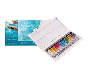 Sennelier La Petite Aquarelle Watercolor Travel Box 12x10ml - komplet akwareli