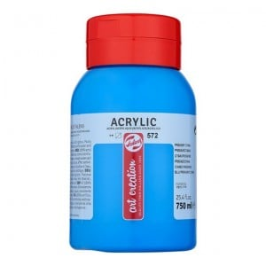 Farba akrylowa Art Creation Acrylic Primary Cyan 750ml