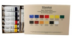 Williamsburg Basic Painting Set I-13 Colors -komplet