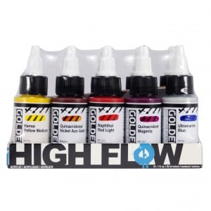 Golden High Flow Set - 10 Asst Colors