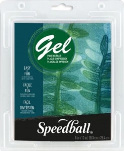 Speedball Gel Printing Plate 20,3x25,4 cm - żelowa płytka do monotypii