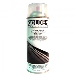 Golden Archival Varnish Spray Gloss