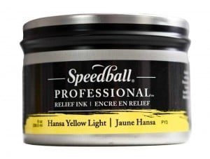 Speedball Professional Relief Ink Hansa Yellow Light - farba graficzna