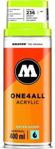 Molotow ONE4ALL SPRAY 400ml #236 poison green - spray akrylowy