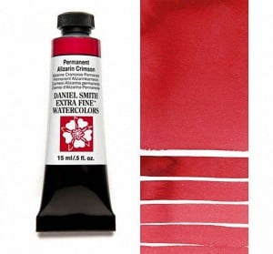 Daniel Smith akwarela Permanent Alizarin Crimson
