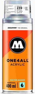 Molotow ONE4ALL SPRAY 400ml #239 clear coat gloss - spray akrylowy