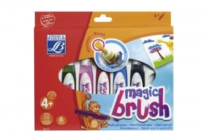 Magic Brush Set 6x15ml - pisaki pędzelkowe wypełnione farbami