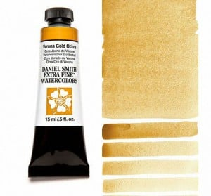 Daniel Smith akwarela Verona Gold Ochre