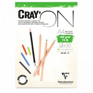 Blok CRAY ON 160g 30 ark. - blok do technik mieszanych