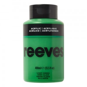 Reeves Farba akrylowa 400ml Light Green